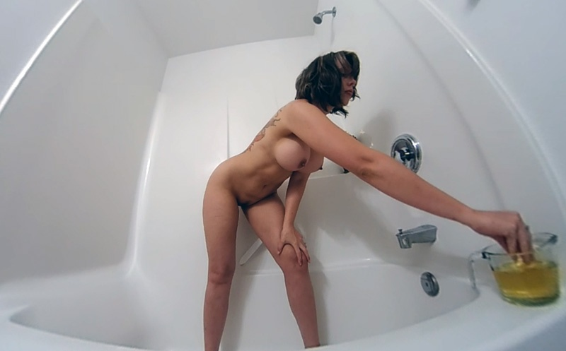 Anointed Solo With Oil VR Amber Chase