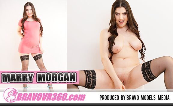 Busty Marry Morgan Toying Shaved Pussy Marry Morgan