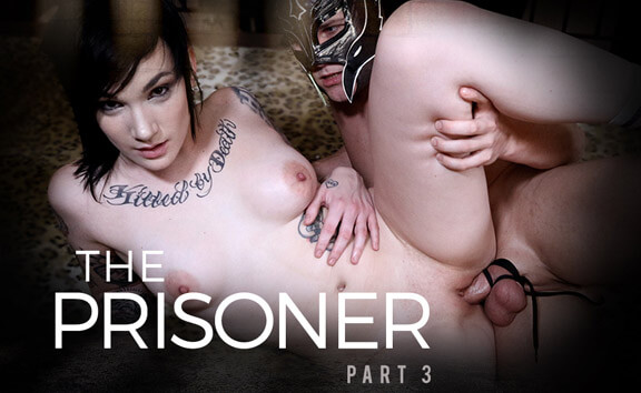 The Prisoner: Part 3 - BDSM Toying and Wrestling Nikki Hearts