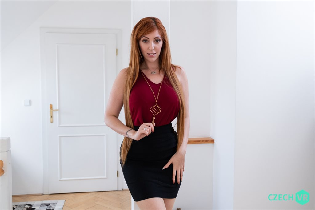 Czech VR 318 - Redhead Realtor Lauren Phillips