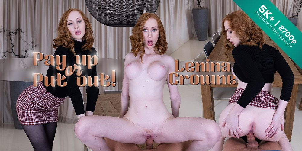 Czech VR 320 - Pay up or Put out! Lenina Crowne