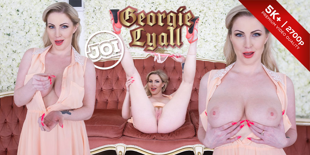 Czech VR Fetish 181 - She'll Tell You How to Come Georgie Lyall