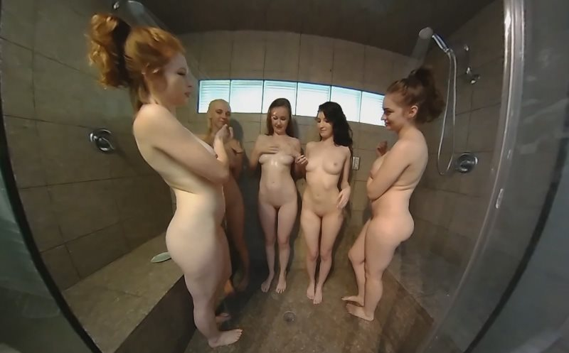 Group Shower Emily Bloom, Abigale Mandler, Hopeless So Frantic, Kawaiii Kitten, Mary Moody