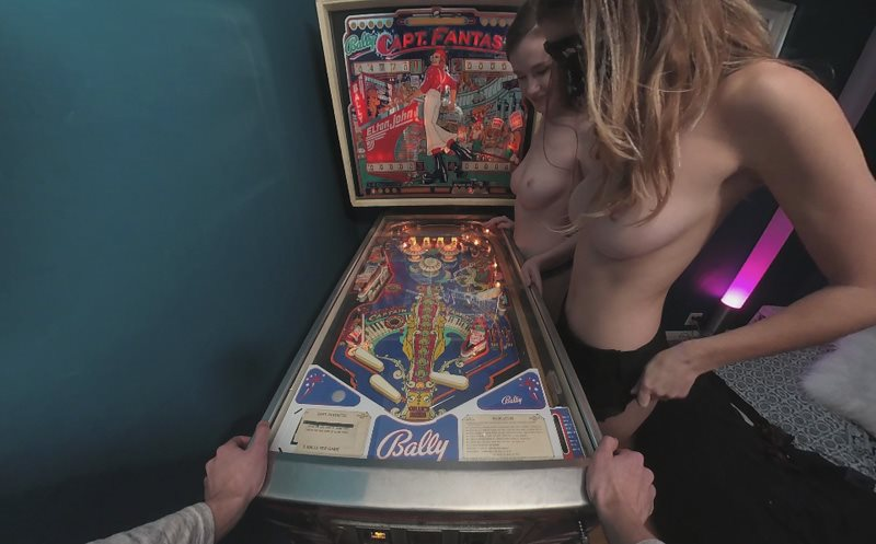 Pinball - Two Amateur Babes Your Little Angel, Emily Bloom