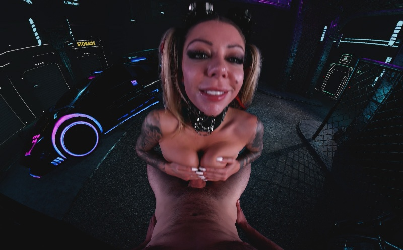 Cyberpunk Alley Sex Karma Rx