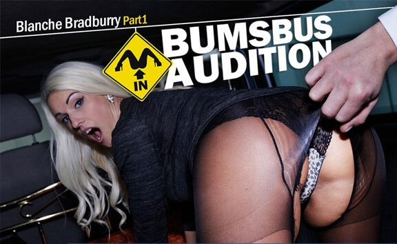Bumsbus Audition 2 - MILF Fucks in a Car Blanche Bradburry