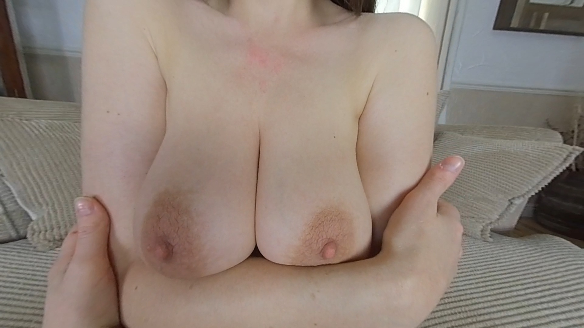 British KateAnne Teases Boyfriend, with Her Big Natural Tits and Dirty Feet, for Being Late Kate Anne