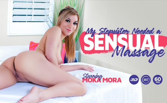 My Stepsister Needed A Sensual Massage Moka Mora