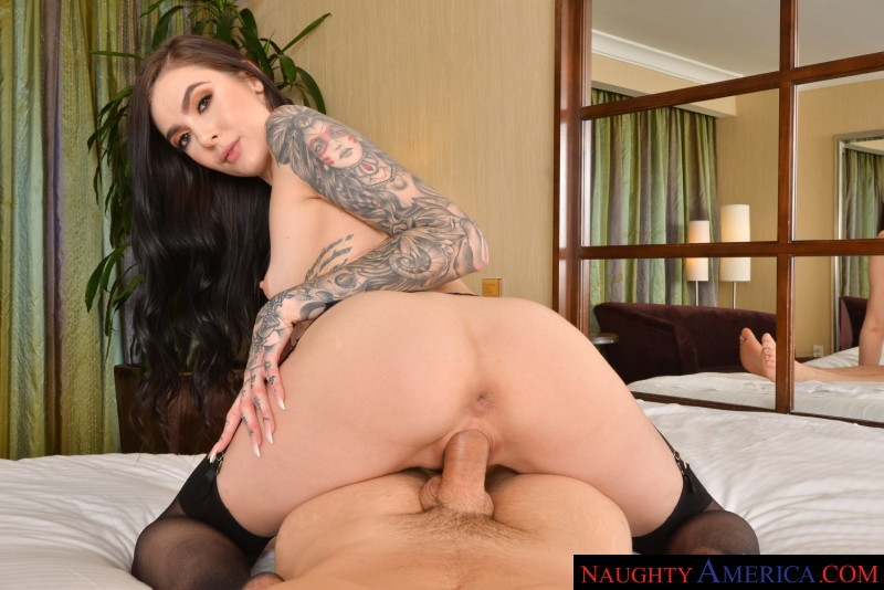 Marley Brinx Fucks you in her hotel room in VR Ryan Driller, Marley Brinx