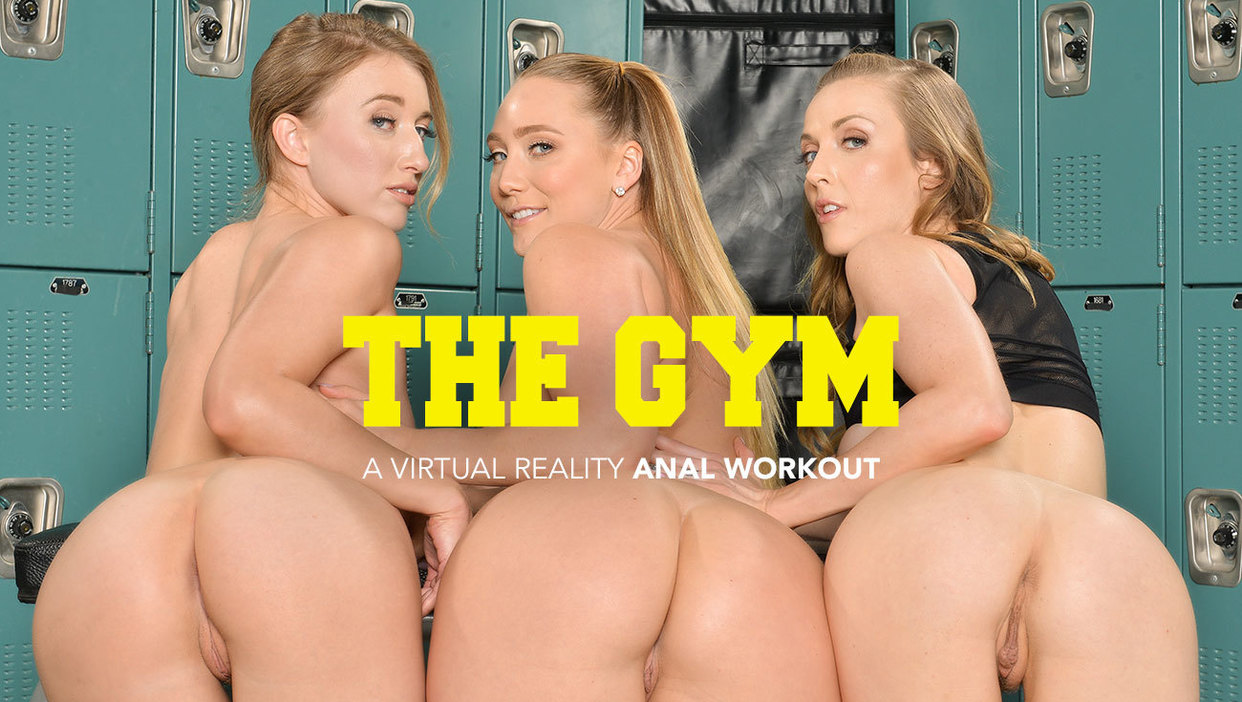 AJ Applegate, Karla Kush, and Riley Reyes takes their trainers cock in their ass Karla Kush, Bambino, AJ Applegate, Riley Reyes