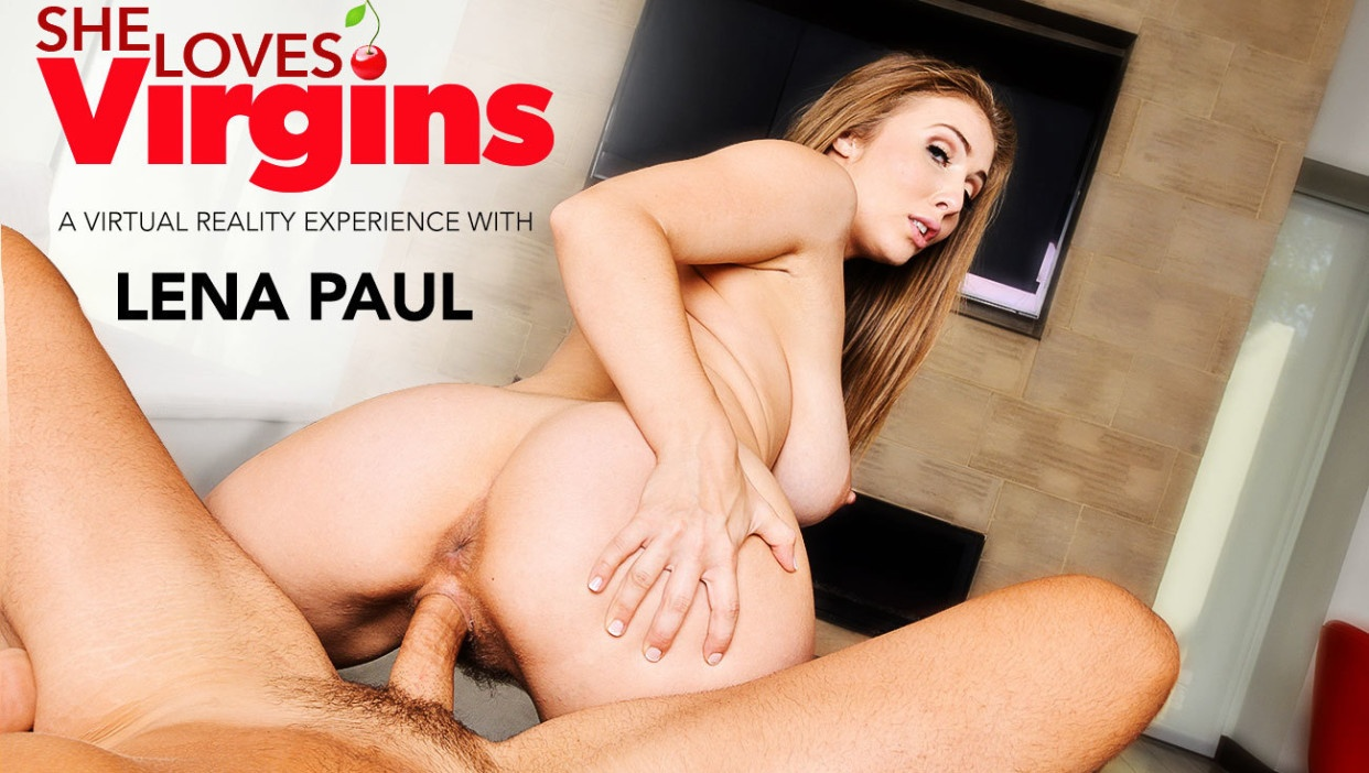 Virginity Thief Lena Paul Ruins Your Innocence in VR Porn Lena Paul, Ryan Driller