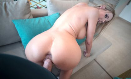 Huge titted Florane Russel riding your cock to orgasm Florane Russell