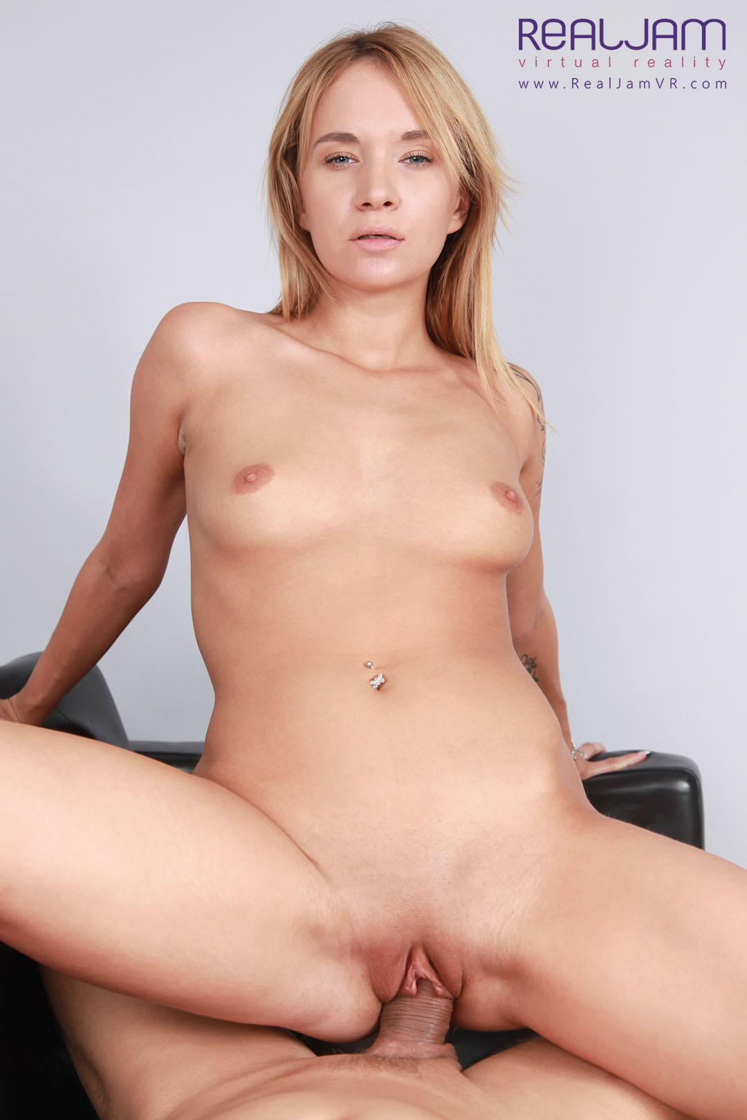 Hot Anal on the Couch - Shaved Blonde Ass Fucking Angel Piaff