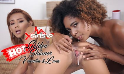 Veronica Leal & Luna Corazon - Golden Shower