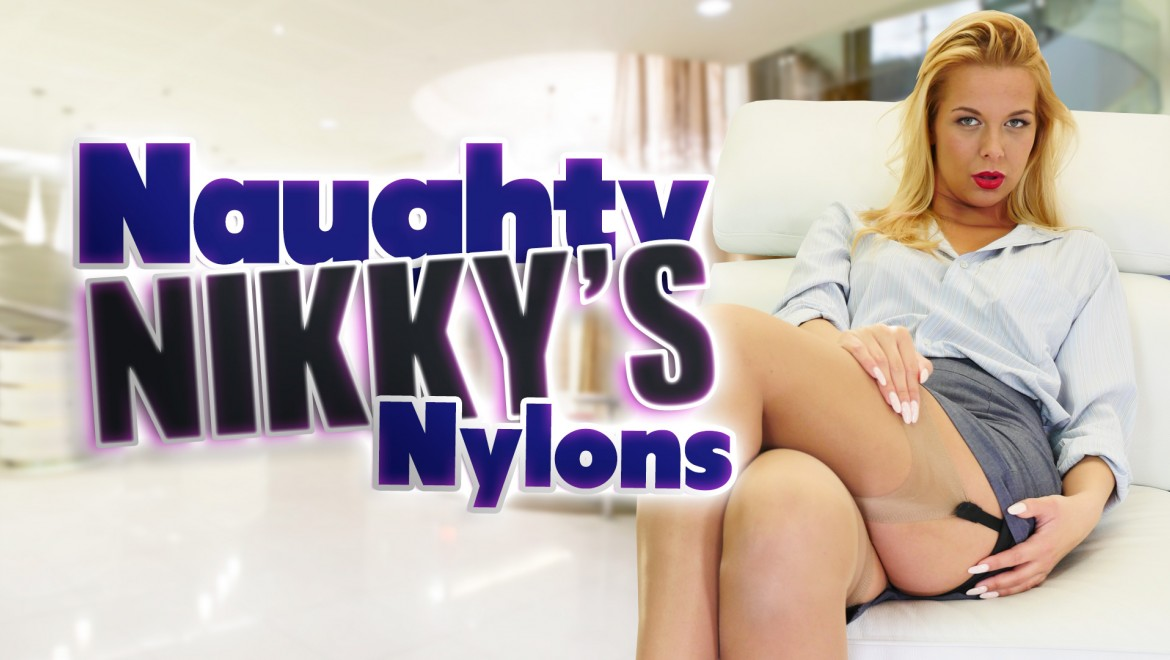 Naughty Nikky's Nylons Nikky Dream - Stockings Upskirt Nikky Dream