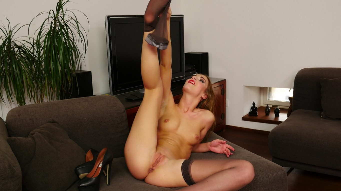 Passion For Pantyhose Alexis Crystal - Stockings and Panties Alexis Crystal