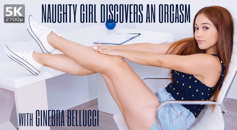 Naughty girl discovers an orgasm Ginebra Bellucci