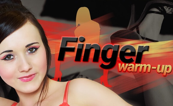 Finger Warm-Up - Her Shaved Pussy Fucked Doggystyle FantAsia