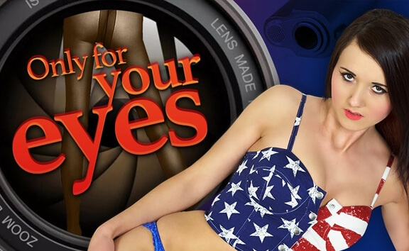 Only For Your Eyes - Brunette Solo Model Toying FantAsia