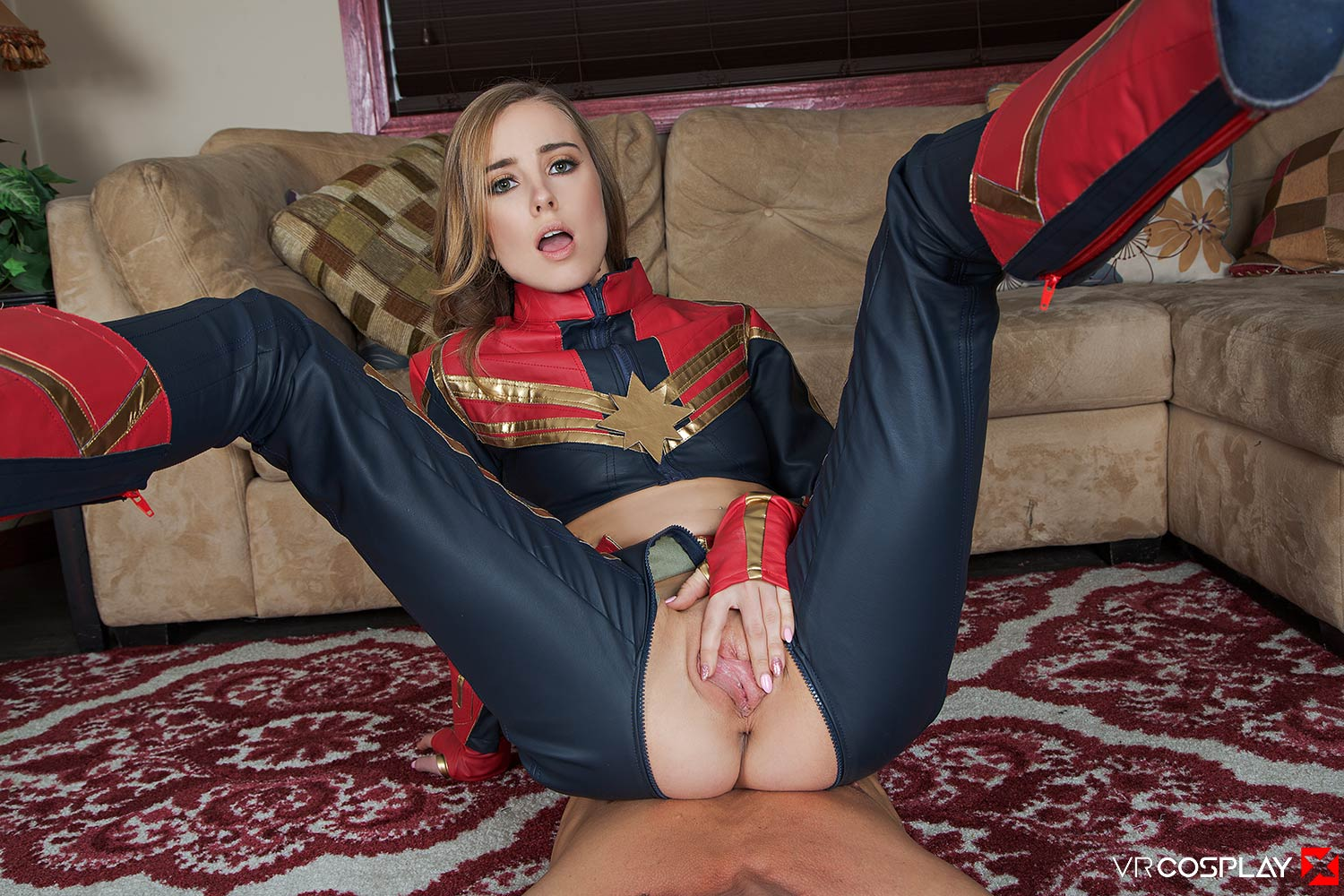 Captain Marvel A XXX Parody Haley Reed