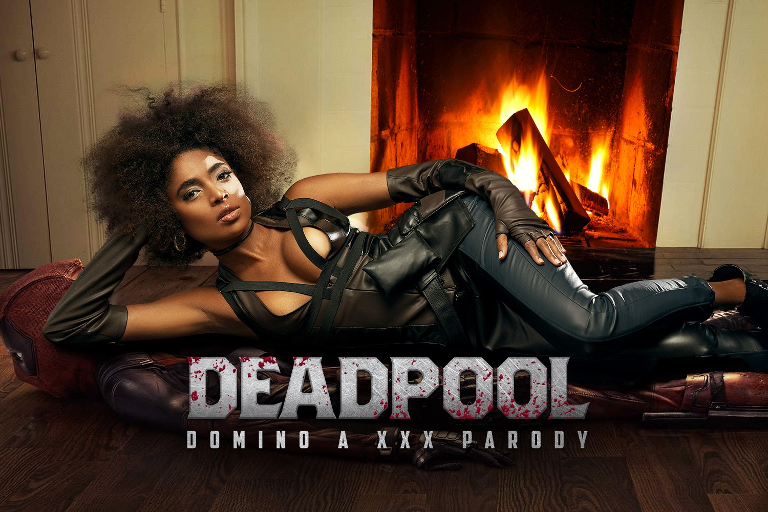 Deadpool: Domino A XXX Parody Luna Corazon