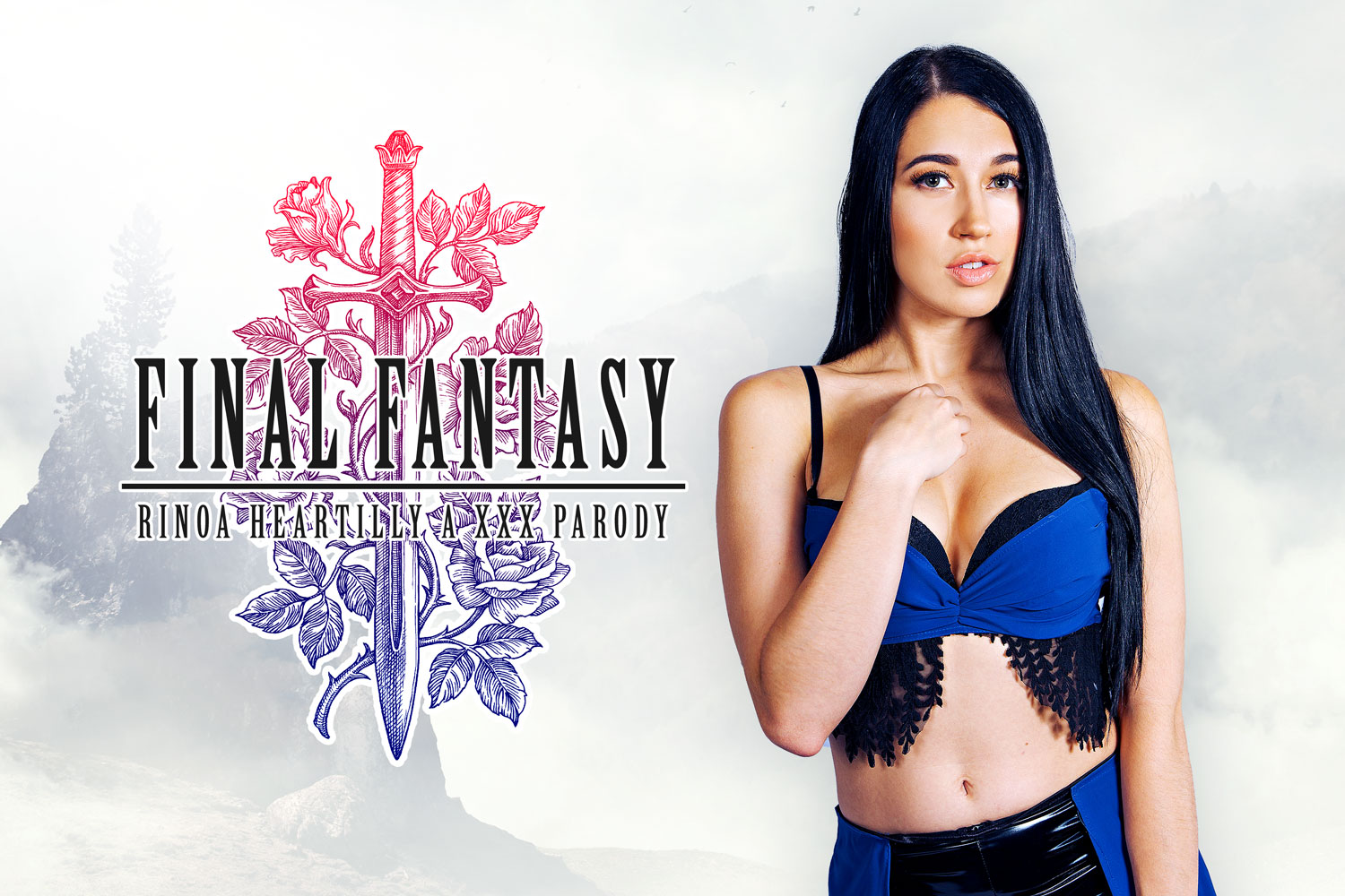 Final Fantasy: Rinoa Heartilly A XXX Parody Alex Coal
