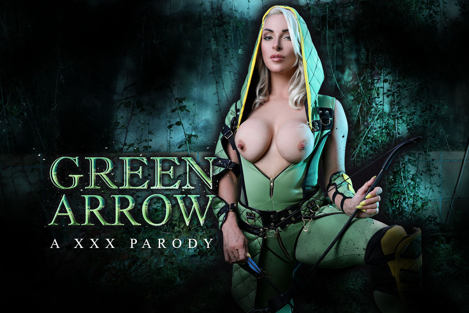 Green Arrow A XXX Parody Victoria Summers