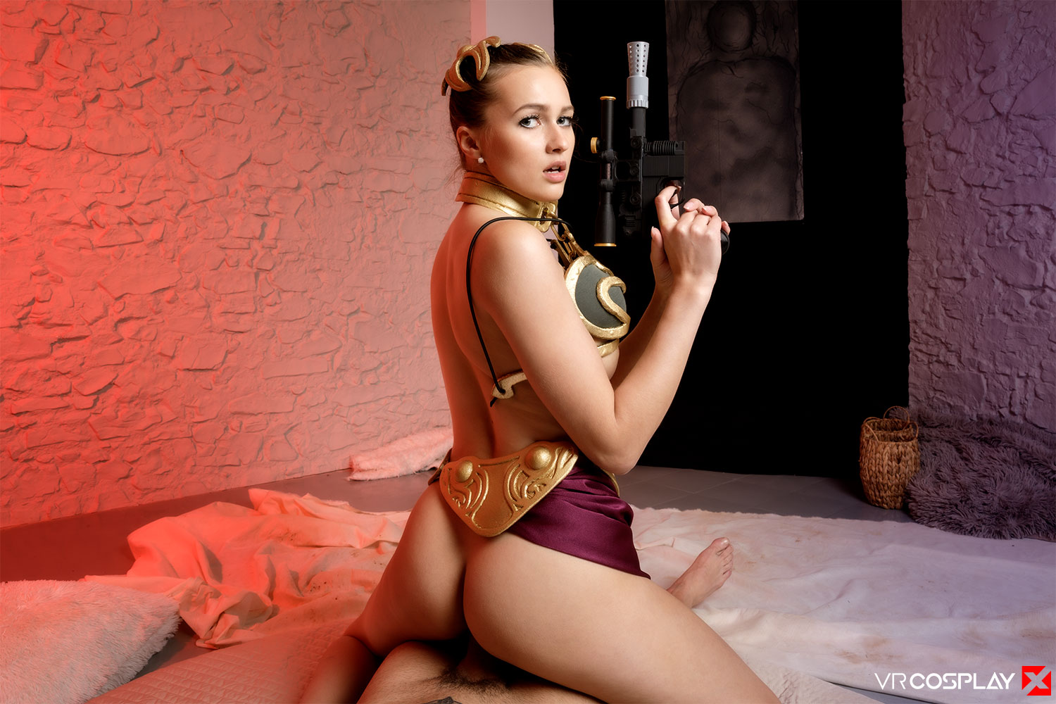 Star Wars: Slave Leia A XXX Parody Stacy Cruz