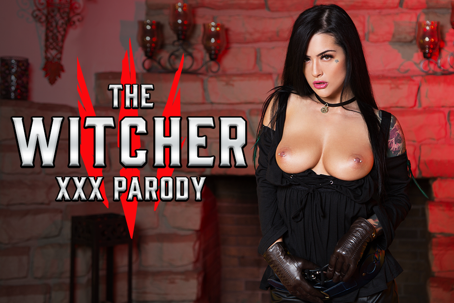 The Witcher XXX Parody Katrina Jade