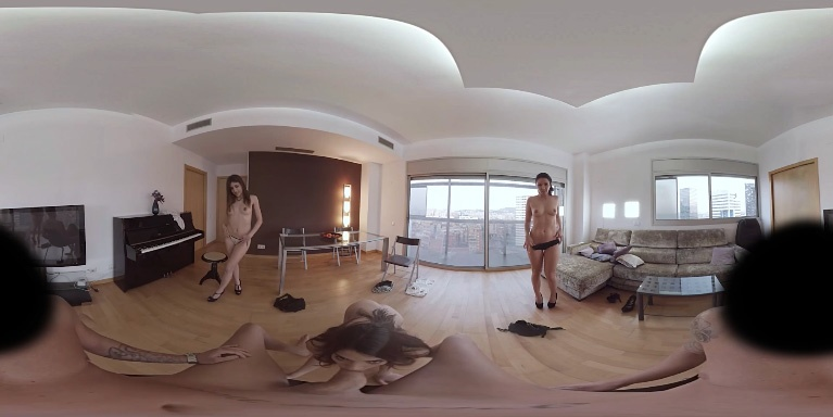 Group action with three hot girls and a big cock Ena Sweet, Pamela Sanchez