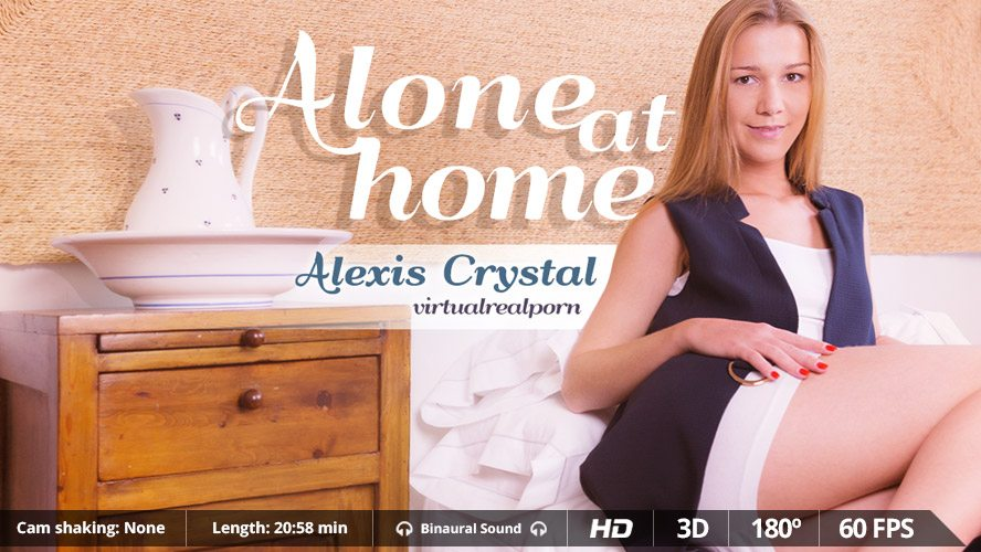 Alone at home Alexis Crystal