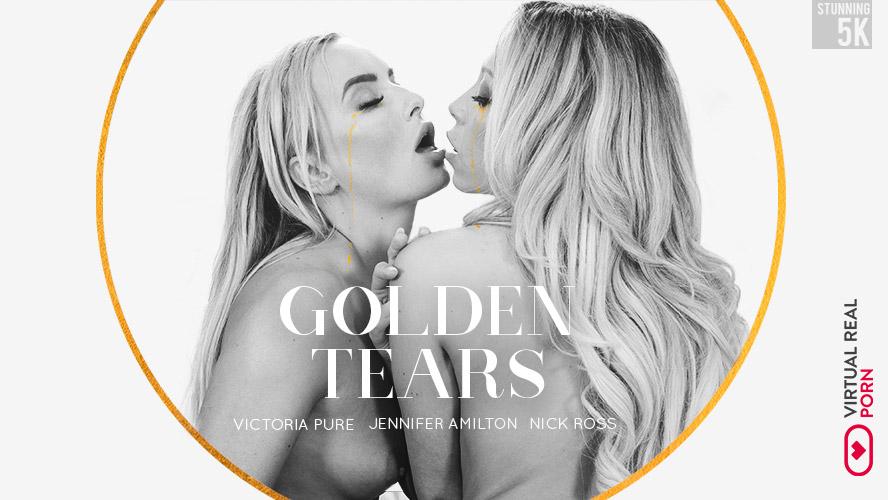 Golden tears Victoria Pure, Nick Ross, Jennifer Amilton