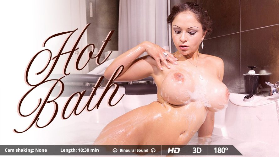 Hot Bath Marta La Croft, Adrian Dimas