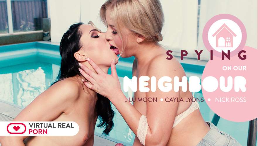 Spying on our neighbour Lilu Moon, Cayla Lyons, Nick Ross