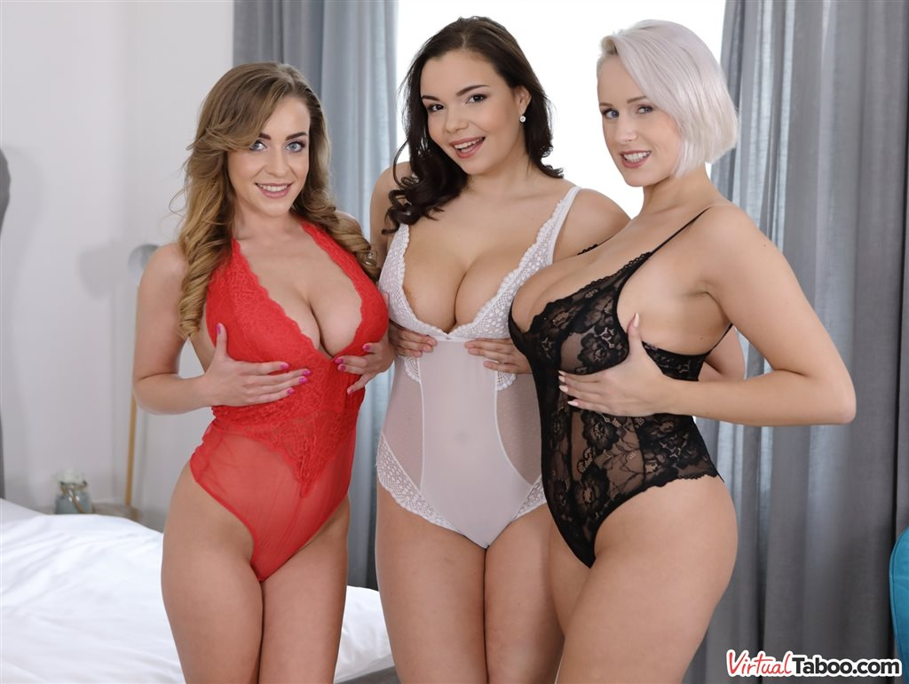 Busty, Curvy And Bootylicious Angel Wicky, Josephine Jackson, Sofia Lee