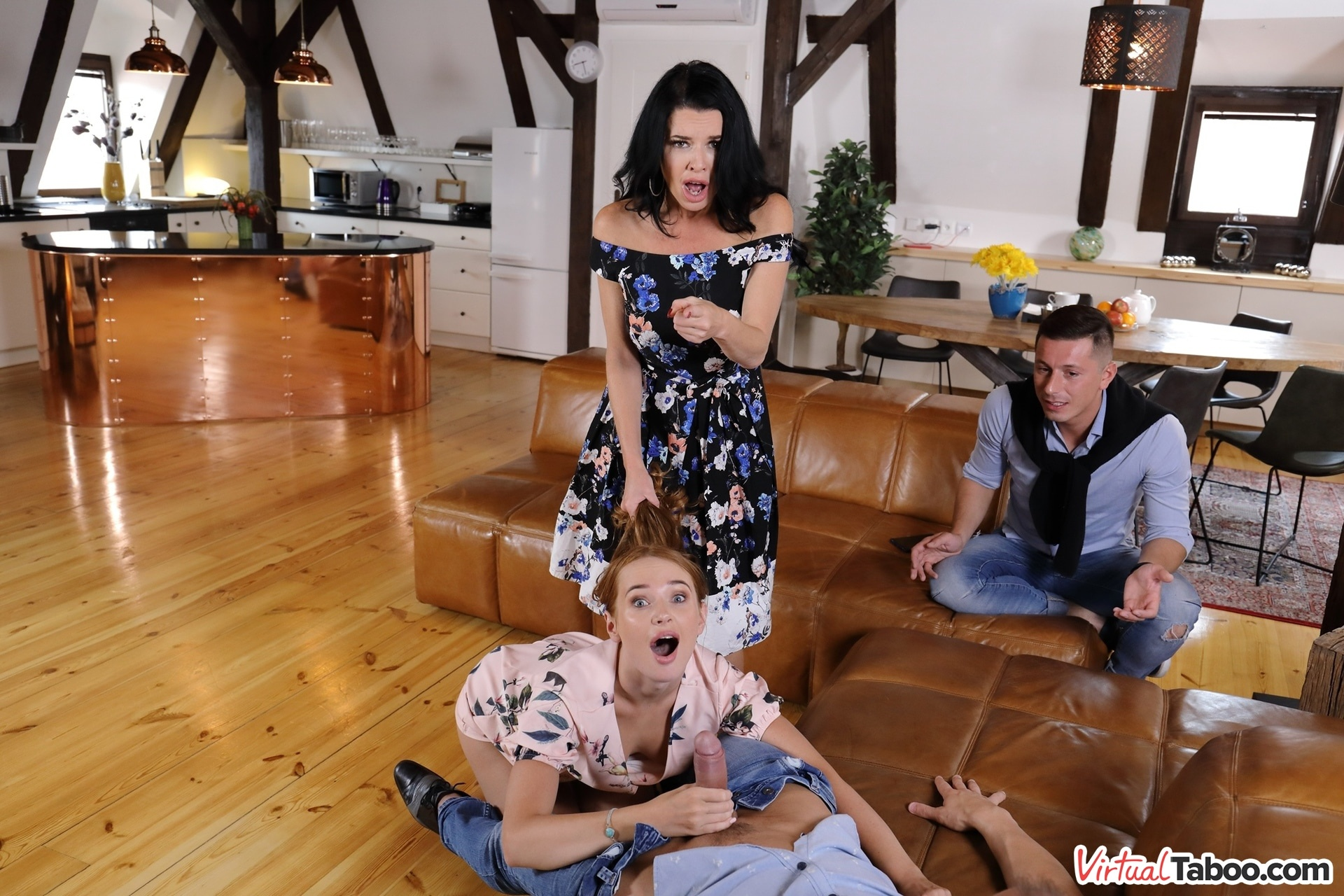 Our Family Rules: First Cum, First Served Kaisa Nord, Veronica Avluv