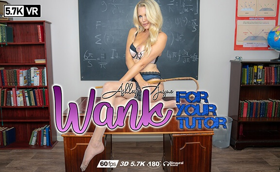 Wank For Your Tutor Ashley Jay