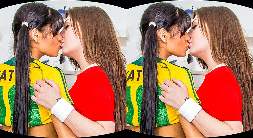 Two Girls, One World Cup Katya Rodriguez, Jojo Kiss