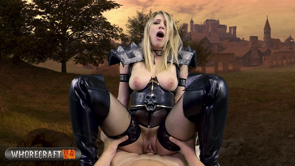 Death Knight Sex Slave; Bit Tits Cosplay Giselle Palmer