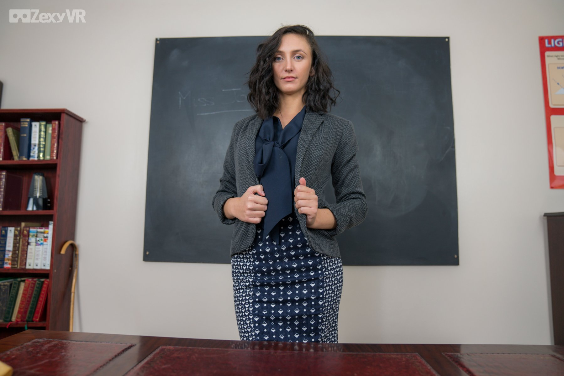Miss Jones - MILF Teacher Solo Mia J