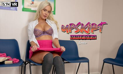 Upskirt Uniform Louise P