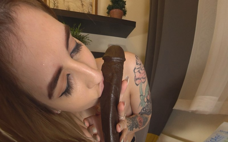 Lust for Black Cum - Redhead with  a BBC Laura Dickens